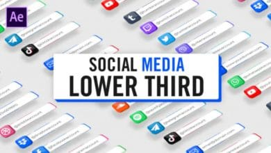 Photo of [After Effects] 3D Social Media Lower Thirds