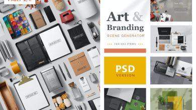 Photo of [Photoshop] Art and Branding Scene Generator (Part 1)