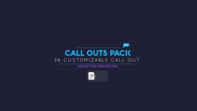 Photo of [Premiere Pro] Call Out Pack