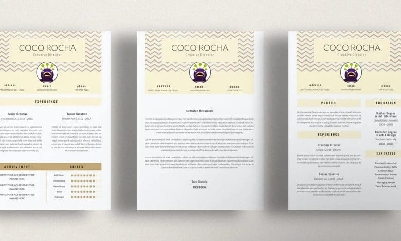 Creative Director - CV Resume Template for Indesign