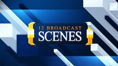 Photo of [After Effects] 12 Broadcast Scenes