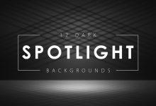 Photo of [Photoshop] 12 Dark Spotlight Backgrounds
