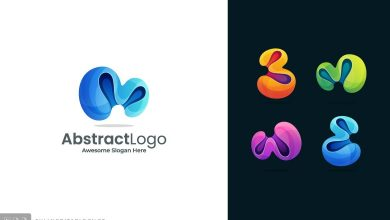 Photo of [Illustrator] Abstract Colorful Logo Template 3