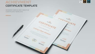 Photo of Achievement Certificate For Photoshop and Illustrator