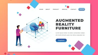 Photo of Augmented Reality Furniture – Landing Page for Illustrator and Photoshop
