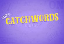 Photo of [Illustrator] Catchwords Vector Pack Volume 1