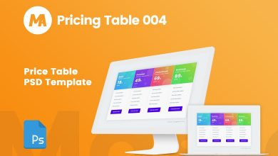 Photo of [Photoshop] Pricing Table
