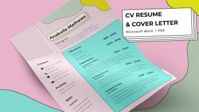 Photo of [Microsoft Word] CV Resume Template Volume 2
