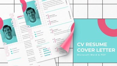 Photo of [Microsoft Word] CV Resume Template Volume 3