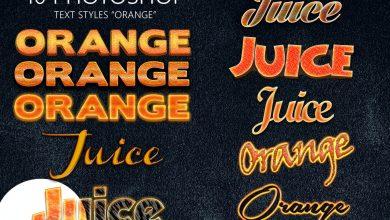 Photo of [Photoshop] 10 Orange Styles