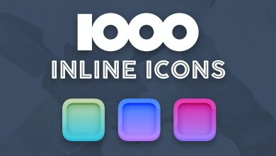 Photo of [Sketch] 1000 inline icons