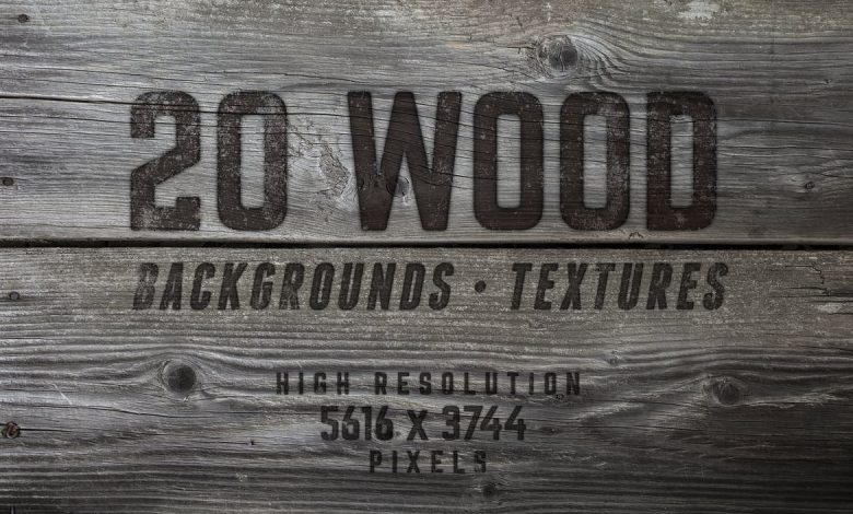 20 Wood Textures and Backgrounds