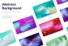 Photo of [Illustrator] 8 Abstract background design