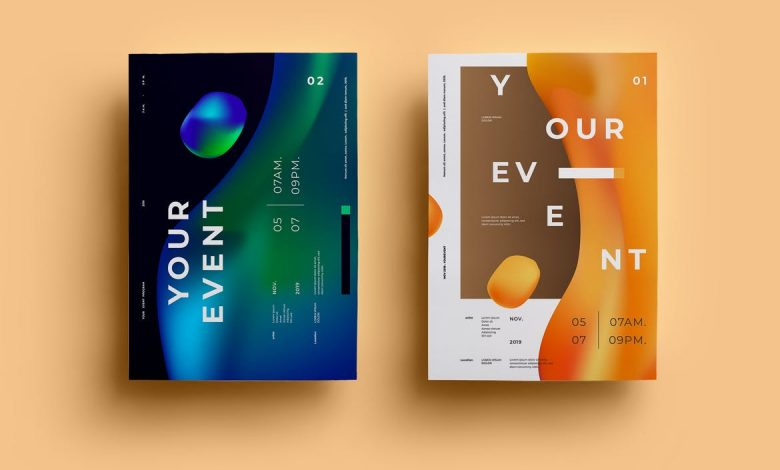 Creative Poster Design Template 1 for Adobe Illustrator