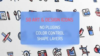 Photo of [After Effects] Design and Art Icons
