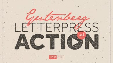 Photo of [Illustrator] Gutenberg – Letterpress Action