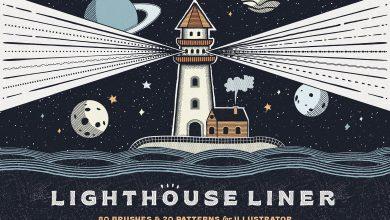 Photo of [Illustrator] Lighthouse Liner Brushes