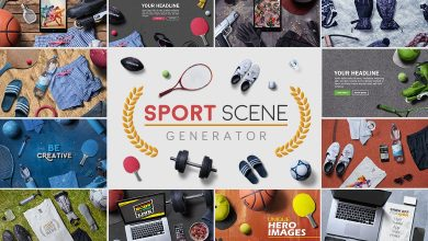 Photo of [Photoshop] Sport Scene Generator