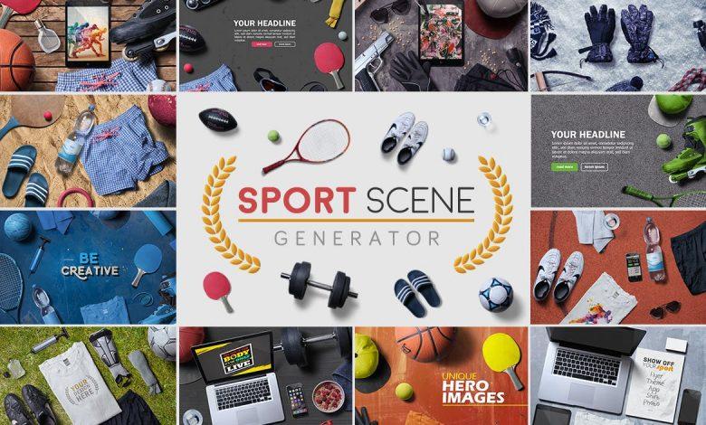 Sport Scene Generator for Photoshop