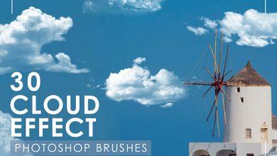 Photo of [Photoshop] 30 Realistic Cloud Brushes