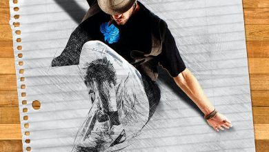 Photo of [Photoshop] 3D Popup Sketch Action