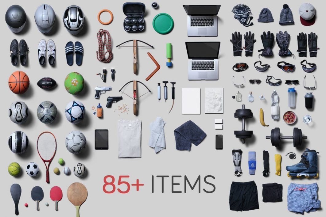 more than 85 items