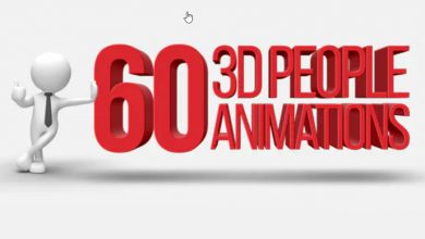 Photo of [After Effects] 3D People Animations