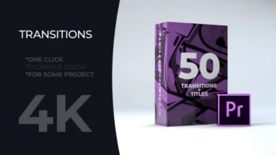 Photo of [Premiere Pro] 50 Title Transitions