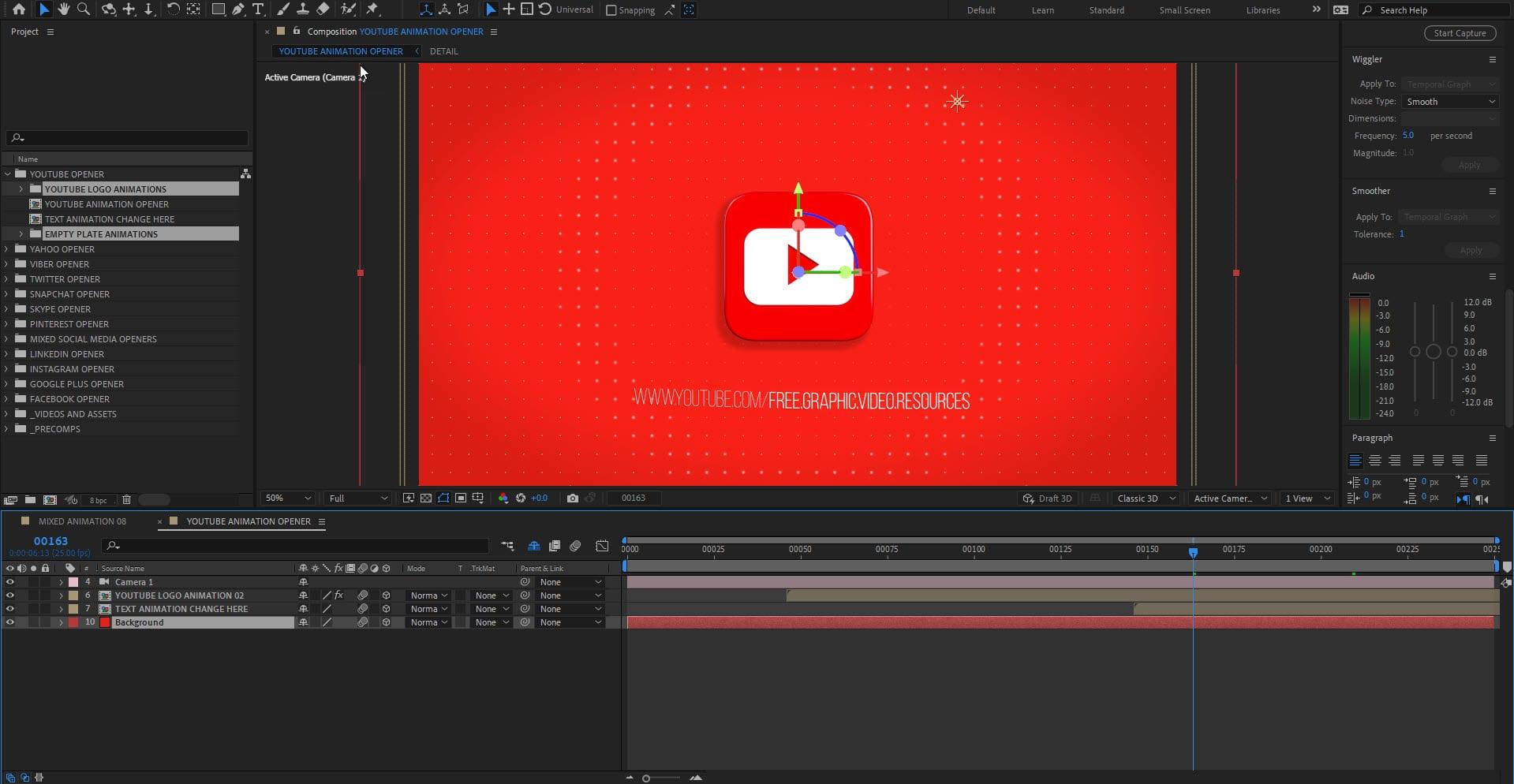 Youtube Animation Opener
